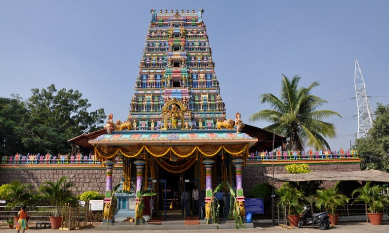 Pedamma Temple Hyderabad: Goddess in middle of City
